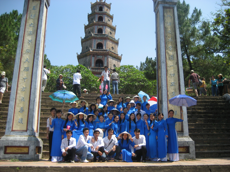 Một số hình ảnh Sinh viên ngành Hướng dẫn Du lịch