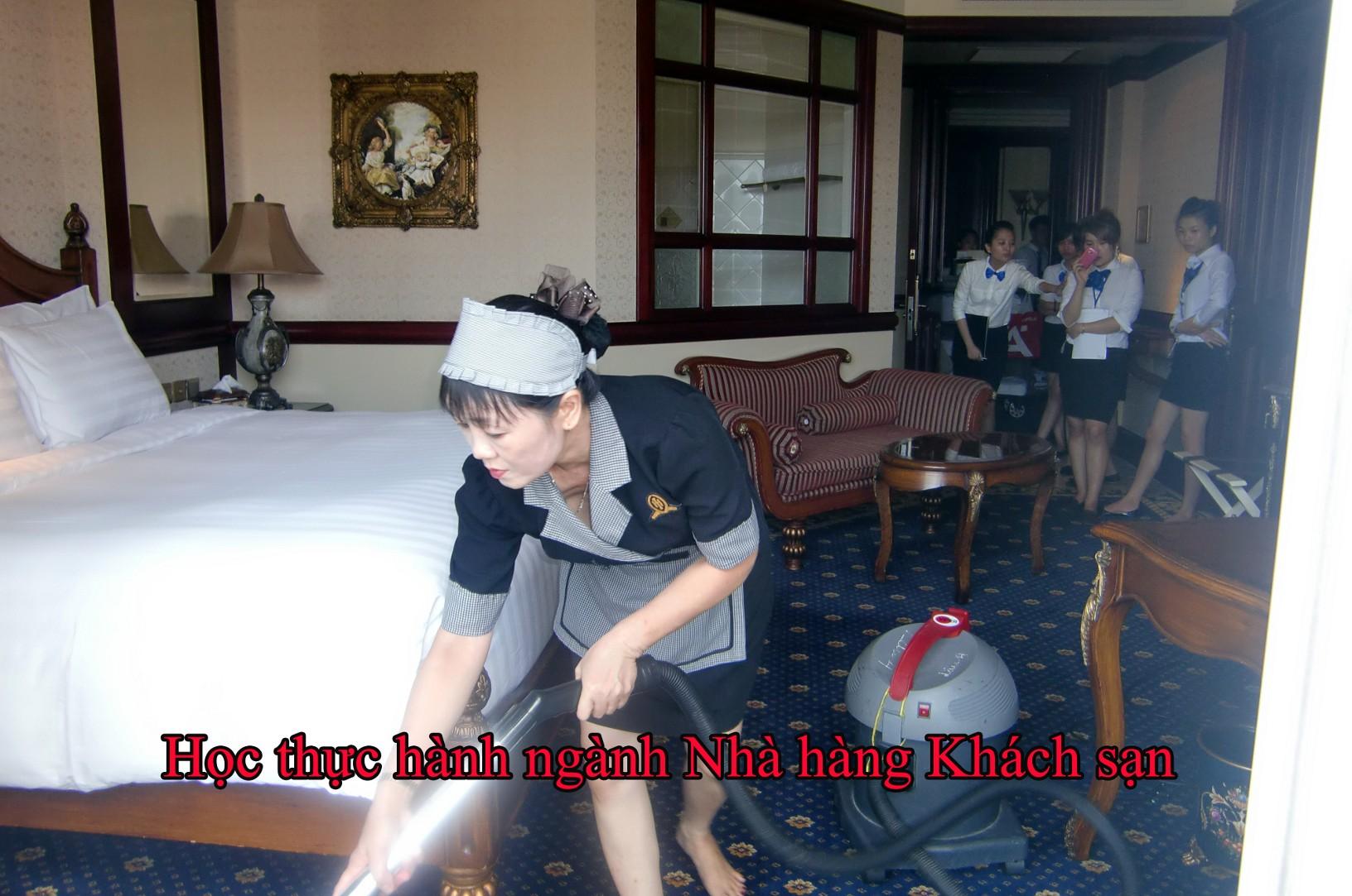 Các thông tin về ngành nghiệp vụ nhà hàng khách sạn